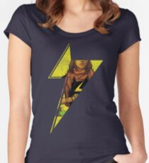 Ms Kamala Bolt Women's Fitted Scoop T-Shirt