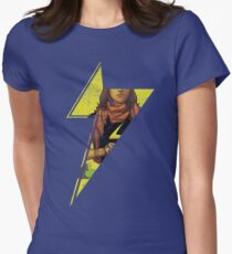 Ms Kamala Bolt Women's Fitted T-Shirt