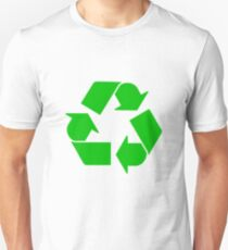 Camiseta unisex Leonard's Other Recycling Symbol