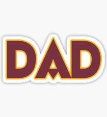 DC DAD! Sticker
