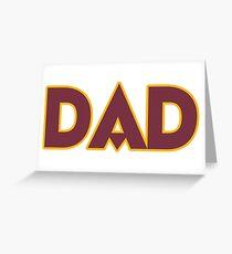 DC DAD! Greeting Card