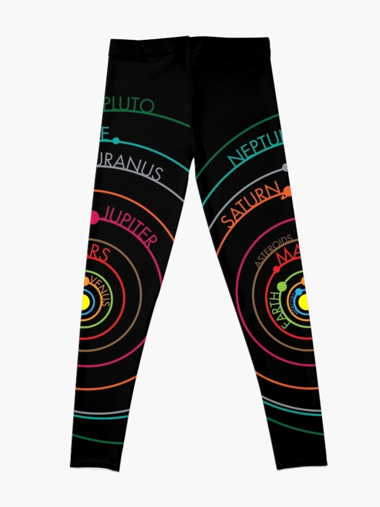 Alternative Ansicht von Sonnensystem Leggings