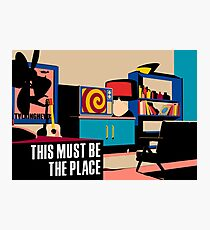 Talking Heads - This Must Be The Place Photographic Print