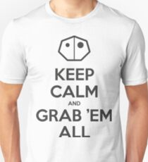 Keep calm and grab them all Unisex T-Shirt
