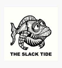 The Slack Tide Art Print