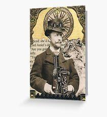 Lord Asriel and Stellamaria Greeting Card