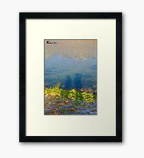 Love Eco Framed Print