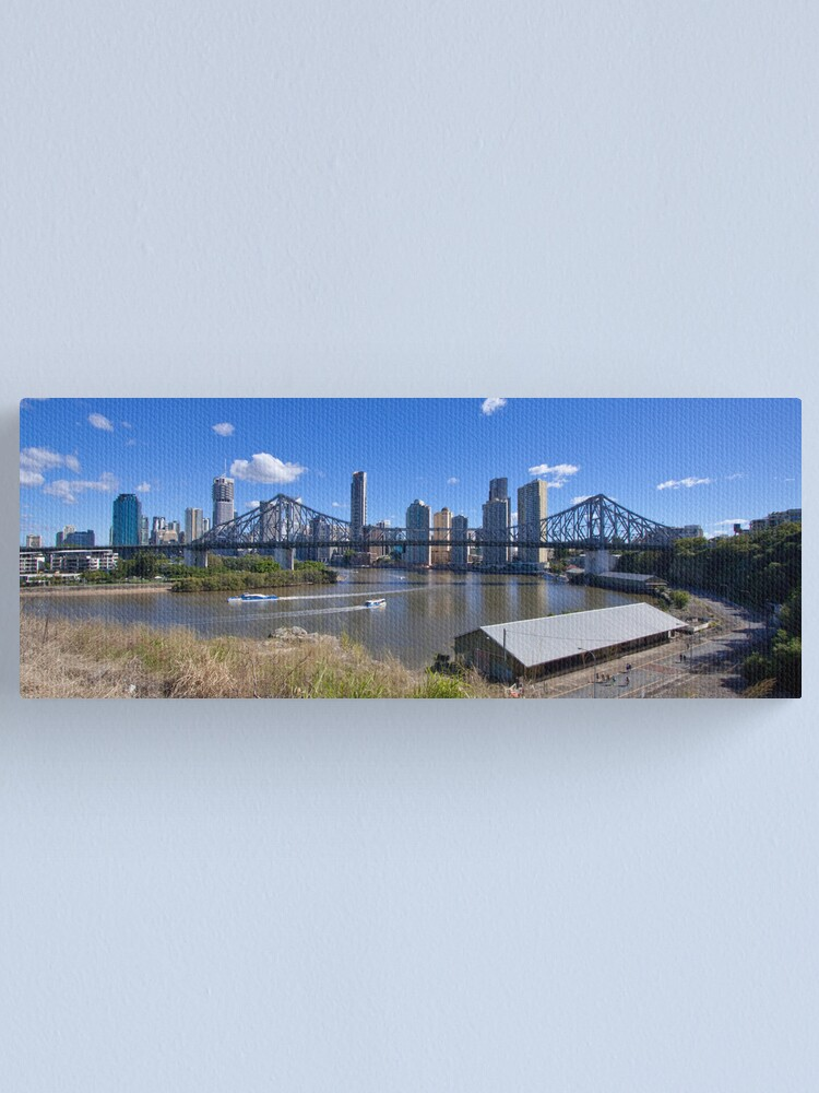 Alternate view of The City Canvas Print