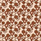 Mariposa Paisley A in Blush Pink by formfuncstylela