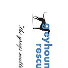 Greyhound Rescue Logo for iPhone by GreyhoundRescue