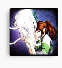 Spirited Away - Chihiro & Haku Canvas Print