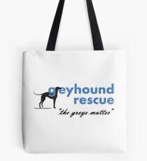 Greyhound Rescue Logo #2 Tote Bag