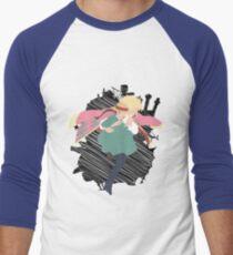 Dancing in the sky Men's Baseball ¾ T-Shirt