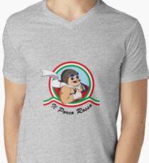 Il Porco Rosso Men's V-Neck T-Shirt