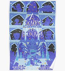 A Starry Eyed Encounter Poster