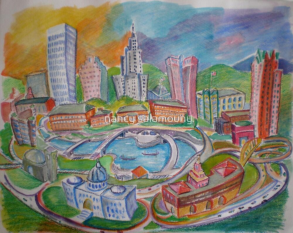 Providence, Rhode Island.... A Colorful City by nancy salamouny