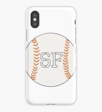 SF Giants Baseball iPhone Case