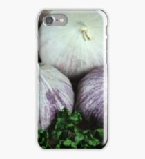 Solo Garlic iPhone Case/Skin