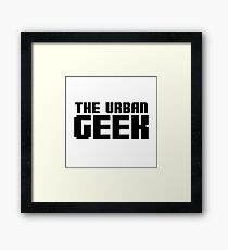 The Urban Geek  Framed Print