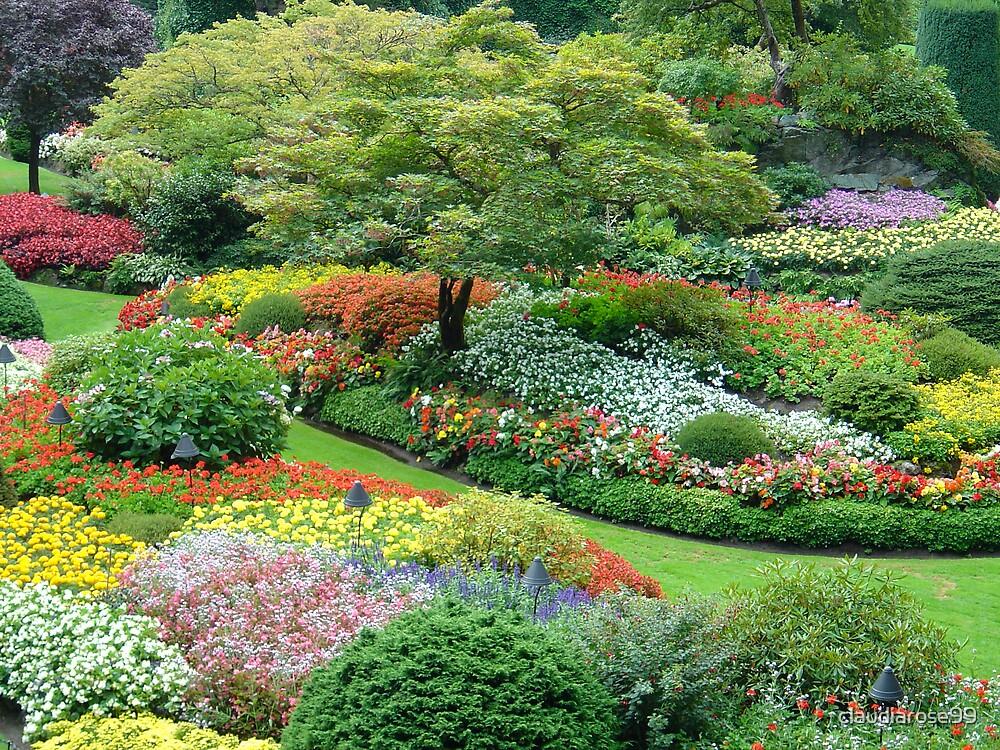 Sunken garden butchart gardens victoria vancouver for Garden design ideas vancouver