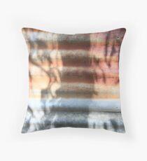 Corrugated eucalyptus Throw Pillow