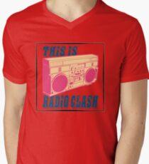 it is Men's V-Neck T-Shirt