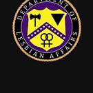 Department of Lesbian Affairs LGBT Gay Pride by oddduckshirts