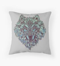 Wolf (Lone) Throw Pillow