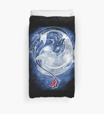 The Last Starry Dragons Duvet Cover