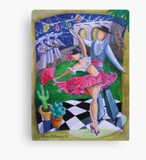 Spicy Salsa Dance Canvas Print