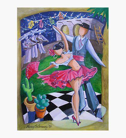 Spicy Salsa Dance Photographic Print