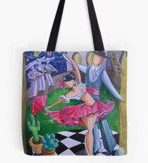 Spicy Salsa Dance Tote Bag