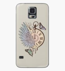 Le Temps Passe Vite (Time Flies) Case/Skin for Samsung Galaxy