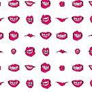 Pink lips by BRozycki