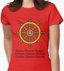 Buddha, India Womens Fitted T-Shirt