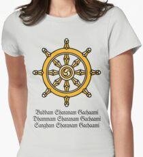 Buddha, India Women's Fitted T-Shirt