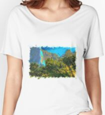 Nature drawn Art Women's Relaxed Fit T-Shirt