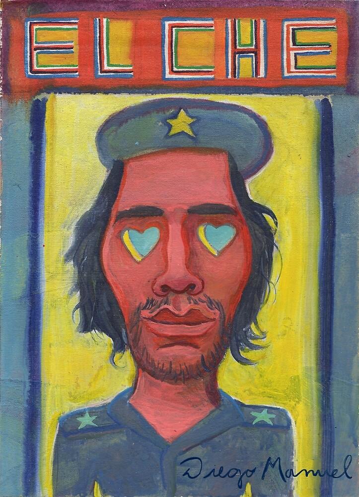 El Che Guevara by Diego Manuel by Diego Manuel Rodriguez