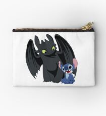 Stitch and Toothless Studio Clutch