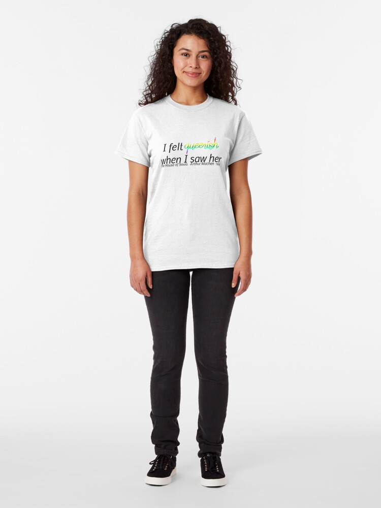 Alternate view of Feeling Queerish Classic T-Shirt