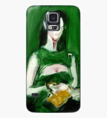 """Fashion and Victim Painting """"Green and Beauty"""" Case/Skin for Samsung Galaxy"""