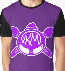 Katie MacKenzie Art & Design - Purple Logo Graphic T-Shirt