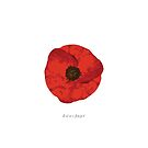 poppy .. lest we forget by badduck09