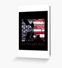 Veterans Day Patriot Greeting Card