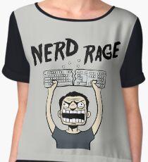 Nerd Rage Chiffon Top