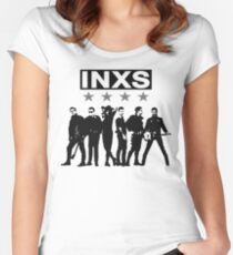 INXS Women's Fitted Scoop T-Shirt