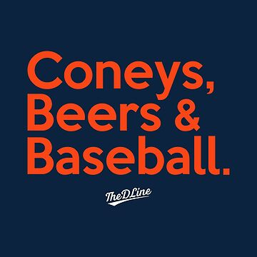 Coneys, Beers & Baseball by thedline