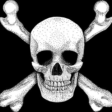 Jolly Roger - Deaths Head Pirate Skull by GrizzlyGaz