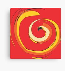 Crazy Spiral by FreddiJr Canvas Print