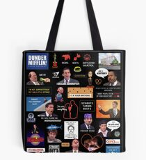 The Office US Montage Tote Bag